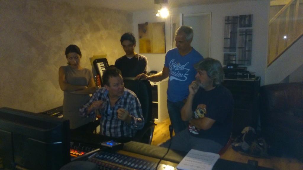 Fanny (violoncelle), Francesco, Nikhil (hautbois), Philip (sax ténor), Laurent